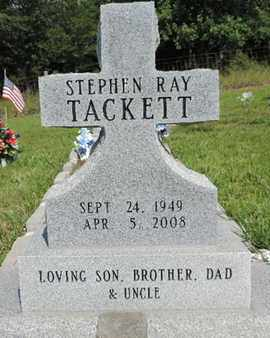 TACKETT, STEPHEN RAY - Pike County, Ohio | STEPHEN RAY TACKETT - Ohio Gravestone Photos