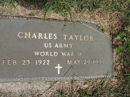 TAYLOR, CHARLES - Pike County, Ohio | CHARLES TAYLOR - Ohio Gravestone Photos