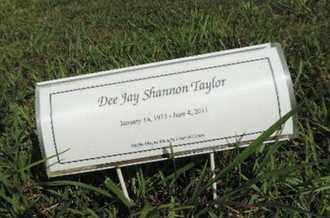 TAYLOR, DEE JAY SHANNON - Pike County, Ohio | DEE JAY SHANNON TAYLOR - Ohio Gravestone Photos