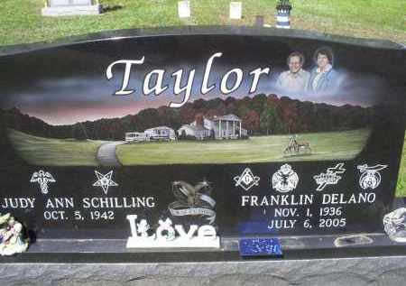TAYLOR, FRANKLIN DELANO - Pike County, Ohio | FRANKLIN DELANO TAYLOR - Ohio Gravestone Photos