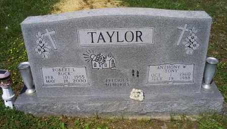 "TAYLOR, ANTHONY W. ""TONY"" - Pike County, Ohio 