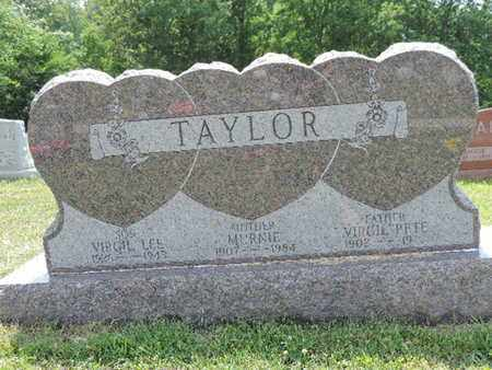TAYLOR, VIRGIL LEE - Pike County, Ohio | VIRGIL LEE TAYLOR - Ohio Gravestone Photos