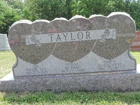 TAYLOR, MURNIE - Pike County, Ohio | MURNIE TAYLOR - Ohio Gravestone Photos
