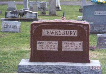 TEWKSBURY, ANNA - Pike County, Ohio | ANNA TEWKSBURY - Ohio Gravestone Photos