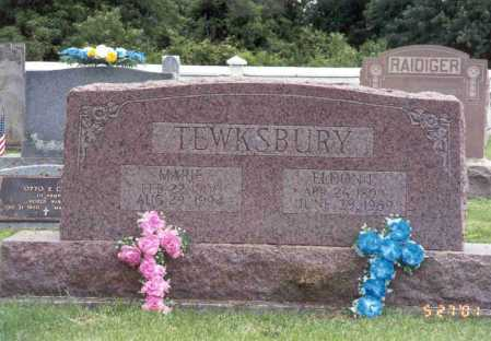 TEWKSBURY, MARIE - Pike County, Ohio | MARIE TEWKSBURY - Ohio Gravestone Photos