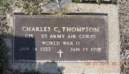 THOMPSON, CHARLES C - Pike County, Ohio | CHARLES C THOMPSON - Ohio Gravestone Photos