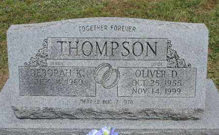 THOMPSON, DEBORAH K. - Pike County, Ohio | DEBORAH K. THOMPSON - Ohio Gravestone Photos