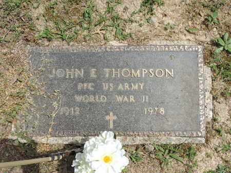 THOMPSON, JOHN E. - Pike County, Ohio | JOHN E. THOMPSON - Ohio Gravestone Photos