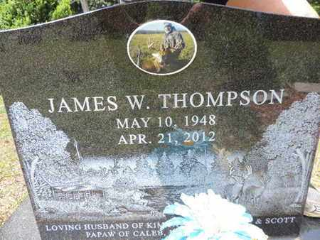 THOMPSON, JAMES W. - Pike County, Ohio | JAMES W. THOMPSON - Ohio Gravestone Photos