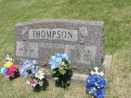 THOMPSON, JUILA - Pike County, Ohio | JUILA THOMPSON - Ohio Gravestone Photos