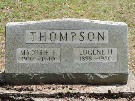 THOMPSON, MAJORIE F. - Pike County, Ohio | MAJORIE F. THOMPSON - Ohio Gravestone Photos