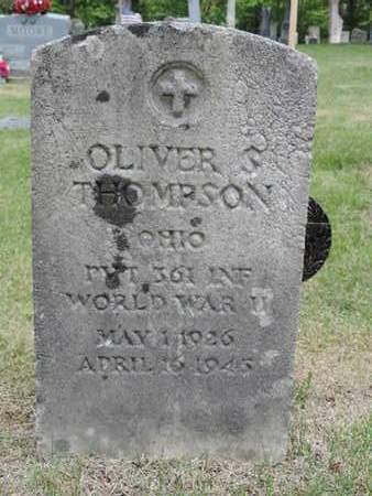 THOMPSON, OLIVER - Pike County, Ohio   OLIVER THOMPSON - Ohio Gravestone Photos