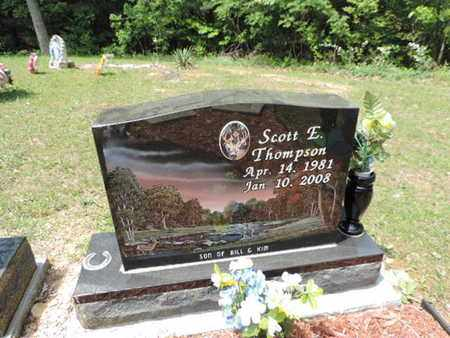 THOMPSON, SCOTT E. - Pike County, Ohio | SCOTT E. THOMPSON - Ohio Gravestone Photos