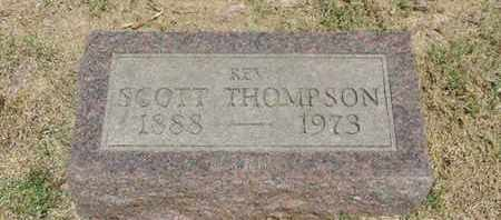THOMPSON, SCOTT - Pike County, Ohio | SCOTT THOMPSON - Ohio Gravestone Photos