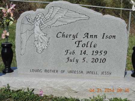 ISON TOLLE, CHERYL ANN - Pike County, Ohio | CHERYL ANN ISON TOLLE - Ohio Gravestone Photos