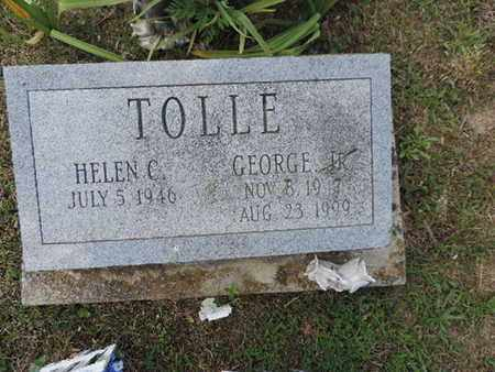 TOLLE, GEORGE - Pike County, Ohio | GEORGE TOLLE - Ohio Gravestone Photos