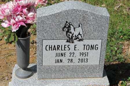 TONG, CHARLES E. - Pike County, Ohio | CHARLES E. TONG - Ohio Gravestone Photos