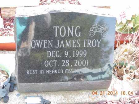 TONG, OWEN - Pike County, Ohio | OWEN TONG - Ohio Gravestone Photos