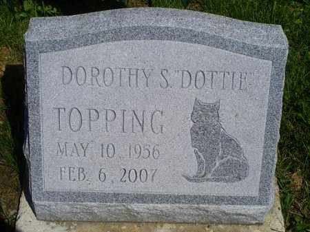 "TOPPING, DOROTHYT S. ""DOTTIE"" - Pike County, Ohio 