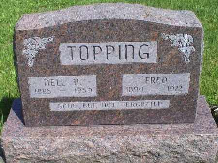 TOPPING, NELL B. - Pike County, Ohio | NELL B. TOPPING - Ohio Gravestone Photos