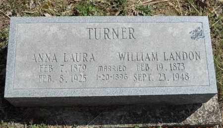 TURNER, ANNA LAURA - Pike County, Ohio | ANNA LAURA TURNER - Ohio Gravestone Photos