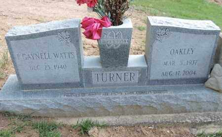 WATTS TURNER, F. GAYNELL - Pike County, Ohio | F. GAYNELL WATTS TURNER - Ohio Gravestone Photos