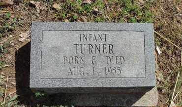 TURNER, INFANT - Pike County, Ohio | INFANT TURNER - Ohio Gravestone Photos
