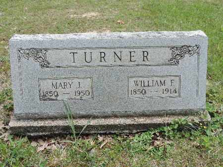 TURNER, MARY J. - Pike County, Ohio | MARY J. TURNER - Ohio Gravestone Photos
