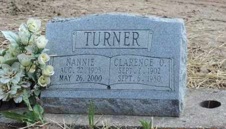 TURNER, NANNIE - Pike County, Ohio | NANNIE TURNER - Ohio Gravestone Photos