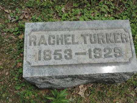TURNER, RACHEL - Pike County, Ohio | RACHEL TURNER - Ohio Gravestone Photos