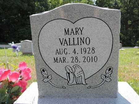 VALLINO, MARY - Pike County, Ohio | MARY VALLINO - Ohio Gravestone Photos