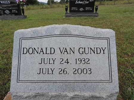 VANGUNDY, DONALD - Pike County, Ohio | DONALD VANGUNDY - Ohio Gravestone Photos