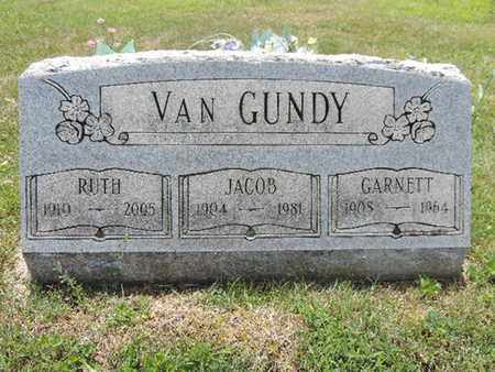 VANGUNDY, RUTH - Pike County, Ohio | RUTH VANGUNDY - Ohio Gravestone Photos