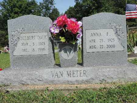 VANMETER, ANNA F. - Pike County, Ohio | ANNA F. VANMETER - Ohio Gravestone Photos