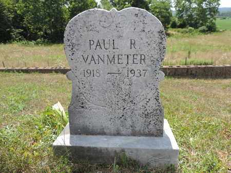 VANMETER, PAUL R. - Pike County, Ohio | PAUL R. VANMETER - Ohio Gravestone Photos