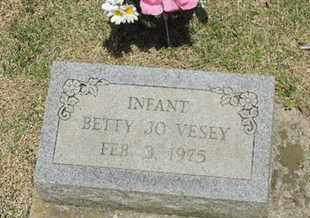 VESEY, BETTY JO - Pike County, Ohio | BETTY JO VESEY - Ohio Gravestone Photos