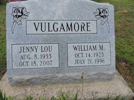 VULGAMORE, WILLIAM M. - Pike County, Ohio | WILLIAM M. VULGAMORE - Ohio Gravestone Photos