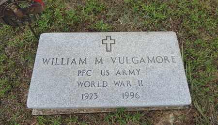 VULGAMORE, WILLIM M. - Pike County, Ohio | WILLIM M. VULGAMORE - Ohio Gravestone Photos