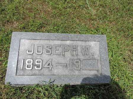 W, JOSEPH - Pike County, Ohio   JOSEPH W - Ohio Gravestone Photos