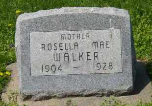 RUPERT WALKER, ROSELLA - Pike County, Ohio | ROSELLA RUPERT WALKER - Ohio Gravestone Photos