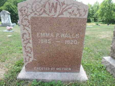 WALLS, EMMA P - Pike County, Ohio | EMMA P WALLS - Ohio Gravestone Photos