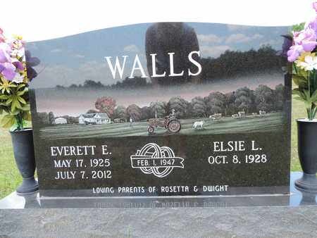 WALLS, EVERETT E. - Pike County, Ohio | EVERETT E. WALLS - Ohio Gravestone Photos