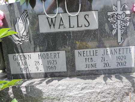 WALLS, GLENN HOBERT - Pike County, Ohio | GLENN HOBERT WALLS - Ohio Gravestone Photos
