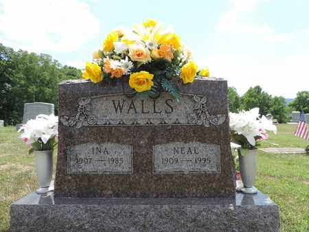 WALLS, INA - Pike County, Ohio | INA WALLS - Ohio Gravestone Photos