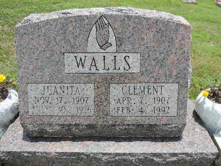 WALLS, JUANJTA - Pike County, Ohio | JUANJTA WALLS - Ohio Gravestone Photos