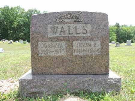 WALLS, IRVIN E. - Pike County, Ohio | IRVIN E. WALLS - Ohio Gravestone Photos