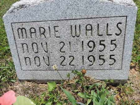 WALLS, MARIE - Pike County, Ohio | MARIE WALLS - Ohio Gravestone Photos