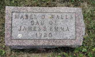 WALLS, MABEL O. - Pike County, Ohio | MABEL O. WALLS - Ohio Gravestone Photos