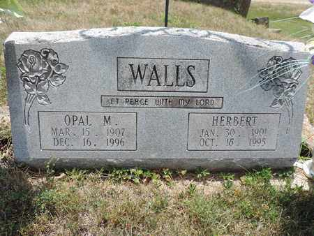WALLS, OPAL M. - Pike County, Ohio | OPAL M. WALLS - Ohio Gravestone Photos