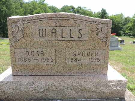 WALLS, GROVER - Pike County, Ohio | GROVER WALLS - Ohio Gravestone Photos